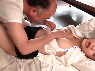 Appealing Japanese milf Akiho Yoshizawa is a horny teacher