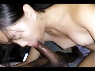 Asian girls   White girls lick black ass comps