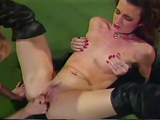 Busty Slut Fucked In Her Hairy Cunt Hole