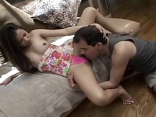 Giggly Sabrine Gets Boned And Honed