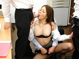 China Mimura in Stunning Asian slut China Mimura enjoys in group sex - AviDolz