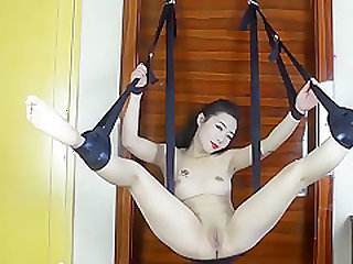 sex swing-Creampie