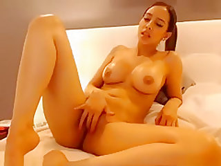 Crazy Webcam clip with Latina, Asian scenes